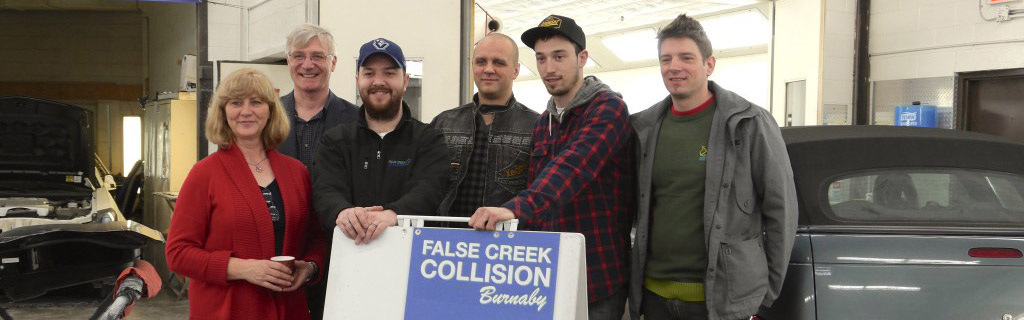 Innovative Autobody Shop False Creek Collision Stays (Way) Ahead of Environment Canada's VOC Regulations