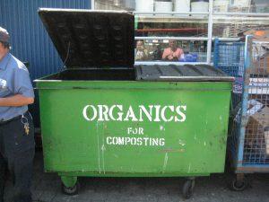 green organics dumpster