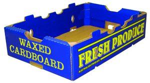 waxed cardboard