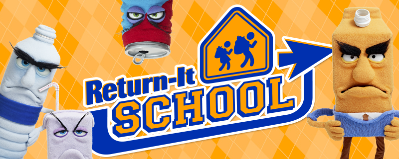 Free Recycling Bins for Local Schools with Return-It School