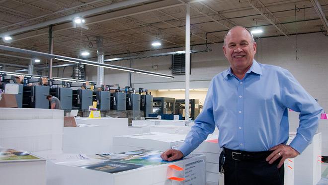 Image of Jeff Taylor, Hemlock Printers