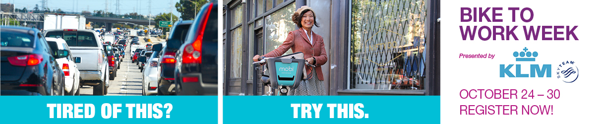Bike to Work Week – October 24th to 30th