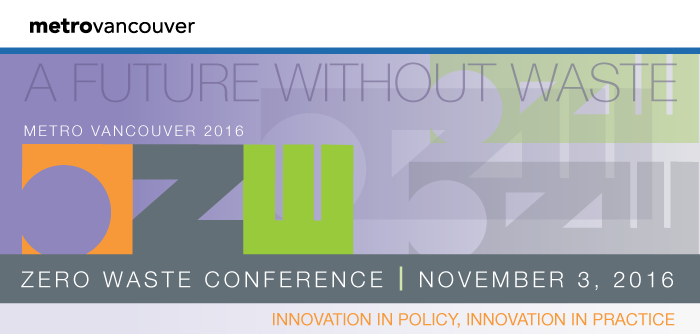 A Future Without Waste – National Zero Waste Conference – November 3