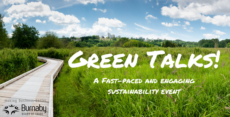 In celebration of Earth Day! Join us for Green Talks 2017