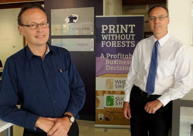 Royal Printers – Going forest-free is easier than you think.