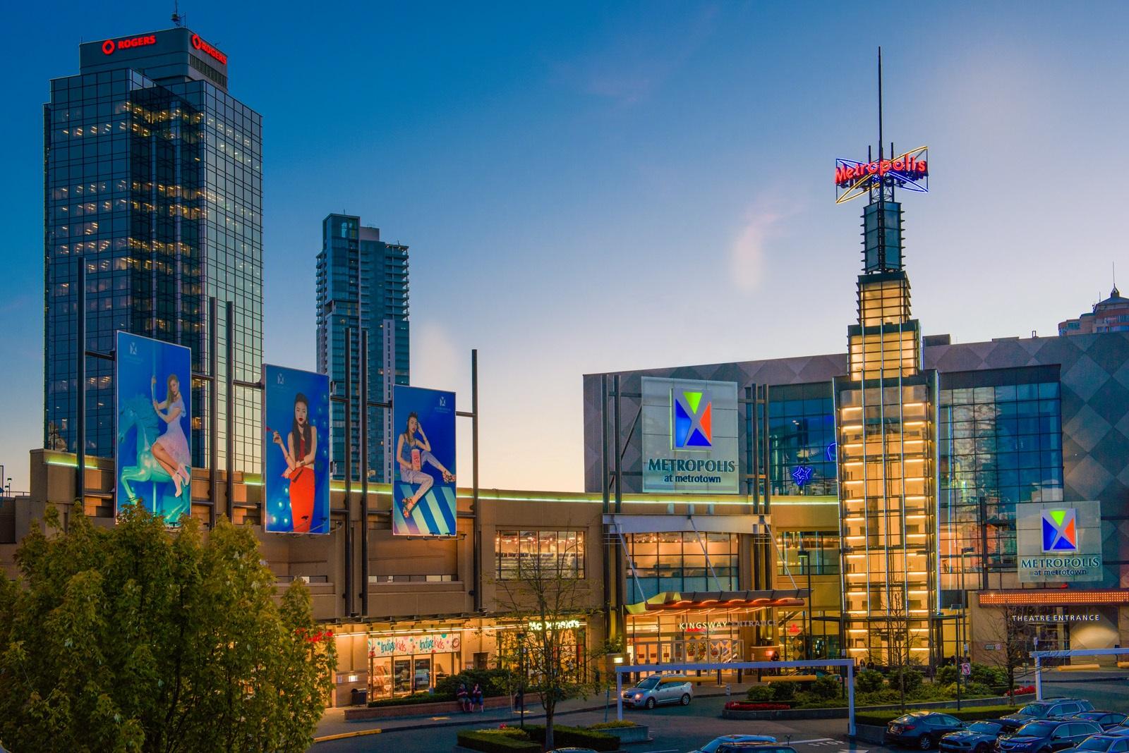 Metropolis at Metrotown – Being Green is Always in Style